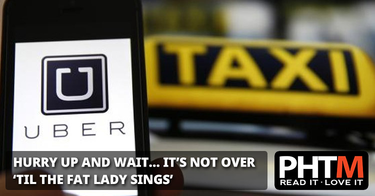 HURRY UP AND WAIT... IT'S NOT OVER 'TIL THE FAT LADY SINGS, AND THAT WON'T HAPPEN FOR SOME TIME