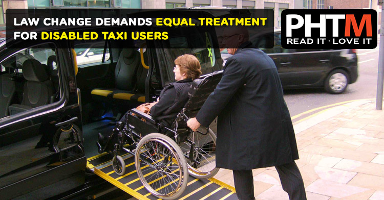 LAW CHANGE DEMANDS EQUAL TREATMENT FOR DISABLED TAXI USERS