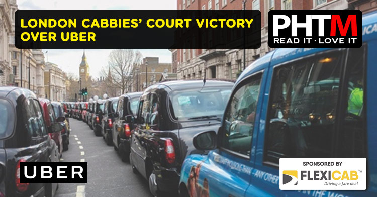 LONDON CABBIES' COURT VICTORY OVER UBER