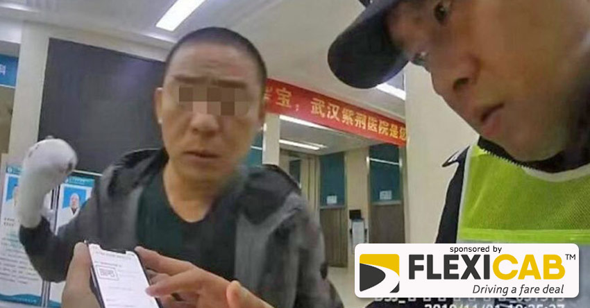 MAN FORGETS FINGER IN CHINESE TAXI AFTER DASH TO HOSPITAL