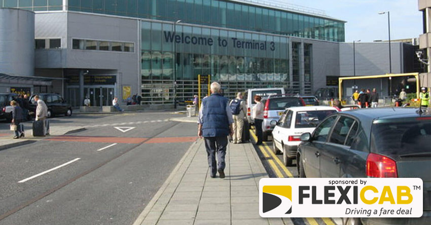 MANCHESTER AIRPORT NEW PRIVATE HIRE DROP-OFF AND HOLDING AREA - M90 5AZ