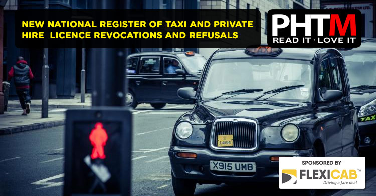 NEW NATIONAL REGISTER OF TAXI AND PRIVATE HIRE  LICENCE REVOCATIONS AND REFUSALS (NR3)