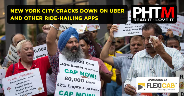 NEW YORK CITY CRACKS DOWN ON UBER AND OTHER RIDE-HAILING APPS