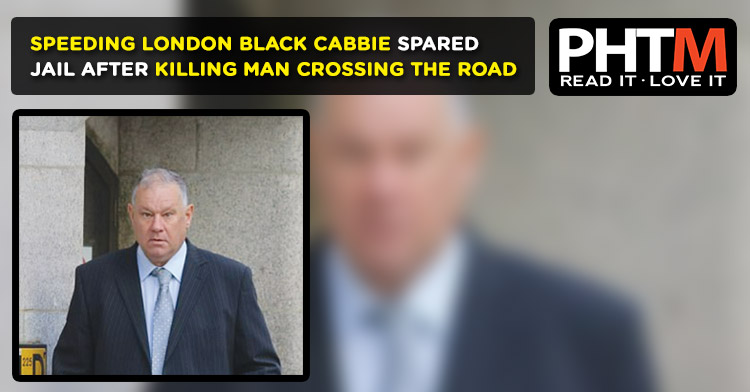SPEEDING LONDON BLACK CABBIE SPARED JAIL AFTER KILLING MAN CROSSING THE ROAD