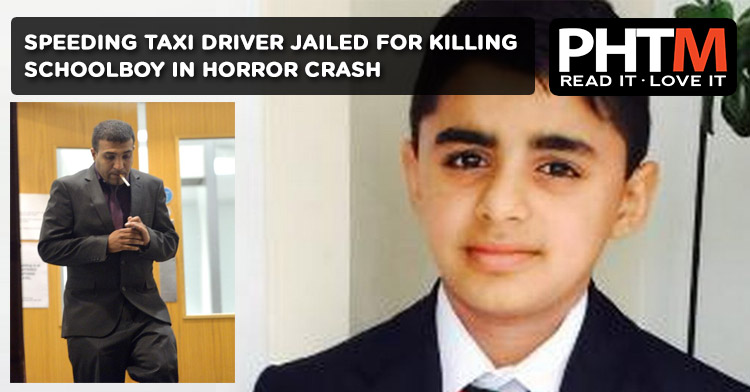 SPEEDING TAXI DRIVER JAILED FOR KILLING SCHOOLBOY AMAR ATWAL IN HORROR CRASH