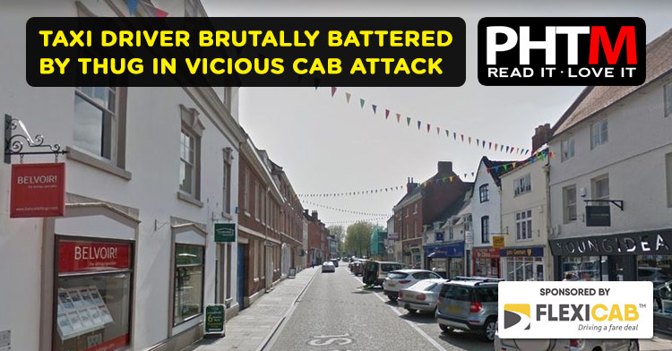 TAXI DRIVER BRUTALLY BATTERED BY THUG IN VICIOUS CAB ATTACK