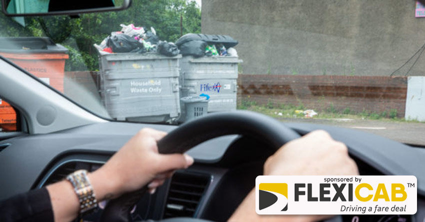 TAXI DRIVERS TO HELP COUNCIL CATCH FLY-TIPPERS