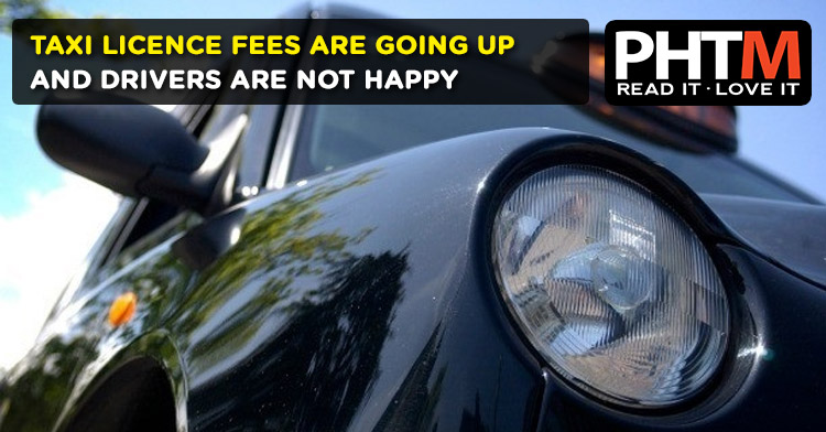 TAXI LICENCE FEES ARE GOING UP AND DRIVERS ARE NOT HAPPY