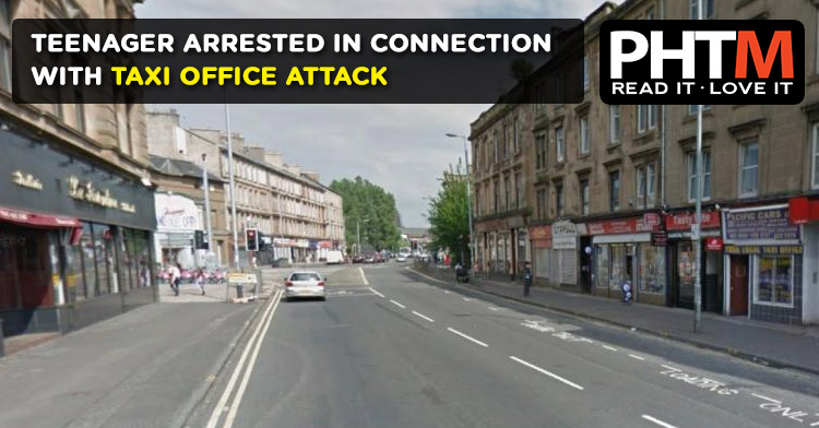 TEENAGER ARRESTED IN CONNECTION WITH TAXI OFFICE ATTACK