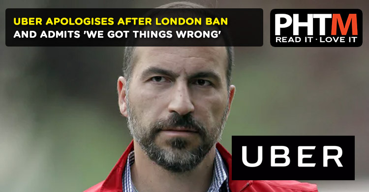 Uber's chief executive has apologised for the taxi app's mistakes in London and promised to change as the company fights a decision by the city not to renew its licence.