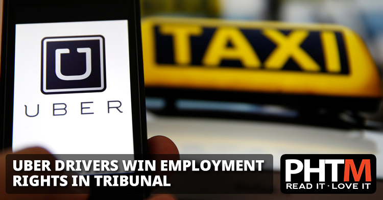 UBER DRIVERS WIN EMPLOYMENT RIGHTS IN TRIBUNAL