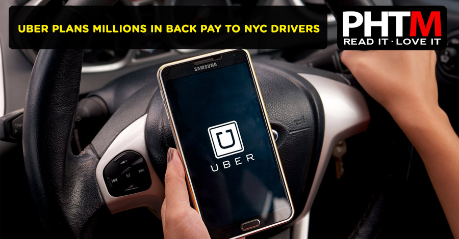 UBER PLANS MILLIONS IN BACK PAY TO NYC DRIVERS
