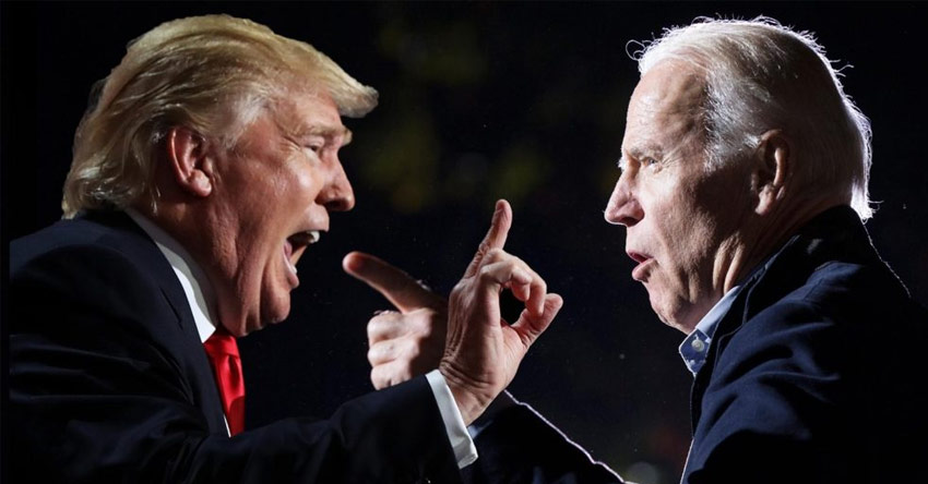 ?AMERICA GOES TO THE POLLS on November 3 to elect its next president where the incumbent  president, Donald Trump (Republican), will attempt to defeat the Democrat representative, Joe Biden.