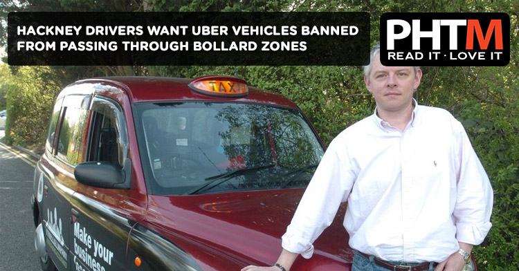 HACKNEY DRIVERS WANT UBER BANNED