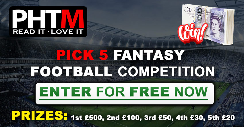 PICK 5 FANTASY FOOTBALL COMPETITION
