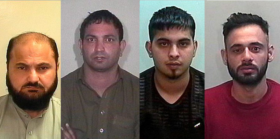 BRADFORD TAXI DRIVER AND FRIENDS JAILED FOR 68 YEARS OVER RAPE ATTACK ON TEACHER
