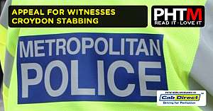 APPEAL FOR WITNESSES TO CROYDON STABBING