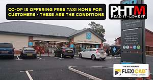 CO OP IS OFFERING FREE TAXI HOME FOR CUSTOMERS THESE ARE THE CONDITIONS
