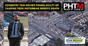 COVENTRY TAXI DRIVER FOUND GUILTY OF CAUSING TEEN MOTORBIKE RIDERS DEATH