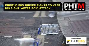 ENFIELD PHV DRIVER FIGHTS TO KEEP HIS SIGHT AFTER ACID ATTACK
