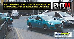GUILDFORD PROTEST CLOGS UP TOWN CENTRE AS INVESTIGATION SUBSEQUENTLY LAUNCHED