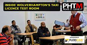 INSIDE WOLVERHAMPTONS TAXI LICENCE TEST ROOM
