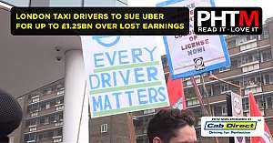 LONDON TAXI DRIVERS TO SUE UBER FOR UP TO 1.25BN OVER LOST EARNINGS