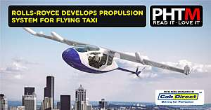 ROLLS ROYCE DEVELOPS PROPULSION SYSTEM FOR FLYING TAXI