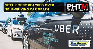SETTLEMENT REACHED OVER SELF DRIVING CAR DEATH