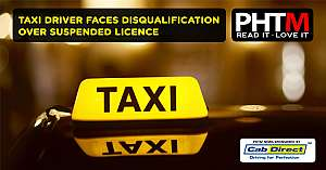 TAXI DRIVER FACES DISQUALIFICATION OVER SUSPENDED LICENCE
