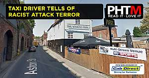 TAXI DRIVER TELLS OF RACIST ATTACK TERROR
