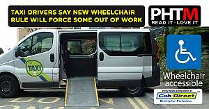 TAXI DRIVERS SAY NEW WHEELCHAIR RULE WILL FORCE SOME OUT OF WORK