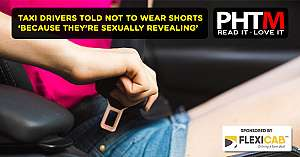 TAXI DRIVERS TOLD NOT TO WEAR SHORTS BECAUSE THEYRE SEXUALLY REVEALING