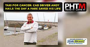TAXI FOR CANCER CAB DRIVER ANDY HAILS THE DAY A FARE SAVED HIS LIFE