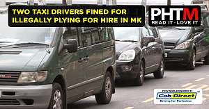 TWO TAXI DRIVERS FINED FOR ILLEGALLY PLYING FOR HIRE IN MK