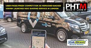 UBER FACES FRESH COMPETITION AS MERCEDES BACKED VIAVAN LAUNCHES RIDE SHARING SERVICE IN LONDON
