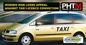 WOKING MAN LOSES APPEAL AGAINST TAXI LICENCE CONVICTION