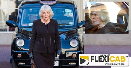 AWKWARD THE CHEEKY QUESTION CAMILLA WAS ASKED IN THE BACK OF A LONDON TAXI REVEALED