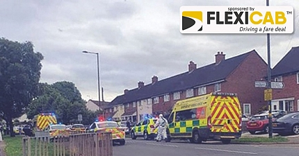BIRMINGHAM TAXI PASSENGER SERIOUSLY INJURED AFTER FALLING INTO BUSY ROAD