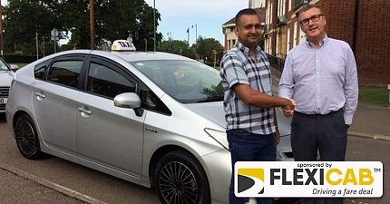 DRIVERS OF ELECTRIC AND HYBRID TAXIS IN NORTH HERTS TO GET DISCOUNTS ON FEES