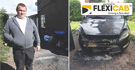 JARROW PRIVATE HIRE DRIVER ON UNIVERSAL CREDIT HAS CAR TORCHED DAYS BEFORE GOING BACK TO WORK