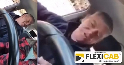 JUSTICE MAN ARRESTED AFTER PRIVATE HIRE DRIVER SUBJECTED TO VILE RACIST TIRADE IN VIDEO