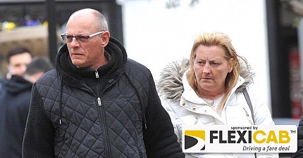 MARRIED COUPLE HURL RACIST ABUSE AT TAXI DRIVER BEFORE THEY BOTH BEAT HIM UP