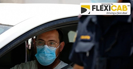 MOTORISTS ARE BEING WARNED TO TAKE CARE WHEN WEARING A FACE MASK WHILE DRIVING