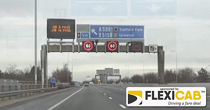 MOTORWAY DRIVING WARNING YOU WILL SOON BE FINED 100 FOR THIS OFFENCE