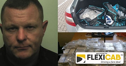 PRIVATE HIRE DRIVER STOPPED ON M6 WITH 4 MILLION WORTH OF HEROIN IN CAR BOOT
