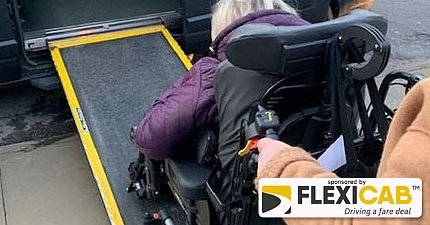 TAXI DRIVER GIVEN PARKING TICKET WHILE USING RAMP TO COLLECT DISABLED WOMAN