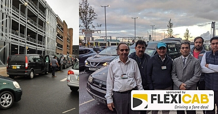 TAXI DRIVERS SLAM POORLY DESIGNED ACCESS ROAD AT WOLVERHAMPTON TRAIN STATION