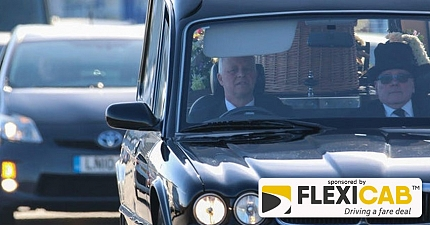 TAXI ESCORT FOR FUNERAL OF MUCH LOVED EASTBOURNE CABBIE