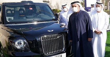 DUBAI AIRPORT TO OFFER LONDON TAXI SERVICE